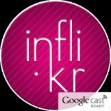Flickr Chromecast の Inflikr