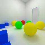脱出ゲーム - Solid - 立体の模型がある無機質な部屋からの脱出