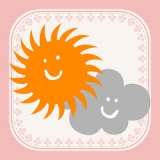 おしゃれ天気 無料の天気予報アプリ