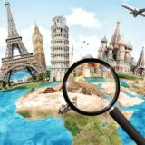 間違い探し世界絶景の旅