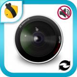 無音カメラ - フォトエディター