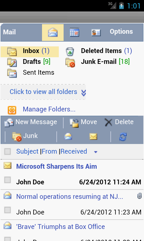 how to delete phone partnerships outlook